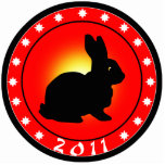 Year of the Rabbit 2011 Cut Out