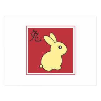 Year of the Rabbit - 2011 Postcard