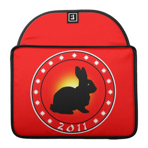 Year of the Rabbit 2011 Sleeves For MacBook Pro