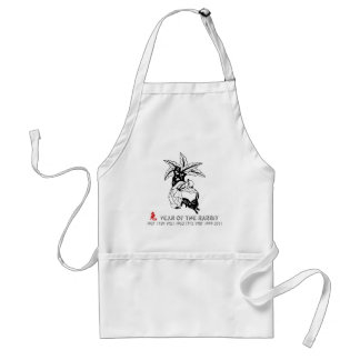 Year of the Rabbit Adult Apron