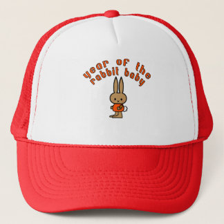 Year of the Rabbit Baby Custom Gifts Trucker Hat