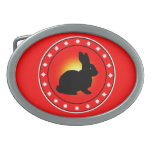 Year of the Rabbit Belt Buckle
