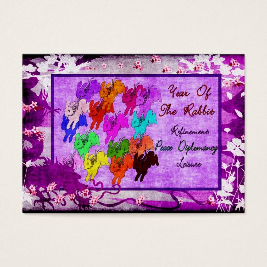 Year of The Rabbit Business Card