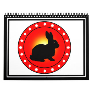 Year of the Rabbit Wall Calendars