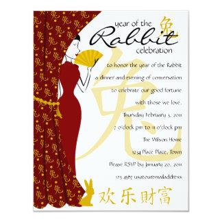Year of the Rabbit Celebration Card
