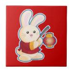 Year of the Rabbit Ceramic Tiles