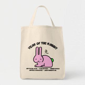 Year of The Rabbit Characteristics Tote Bag