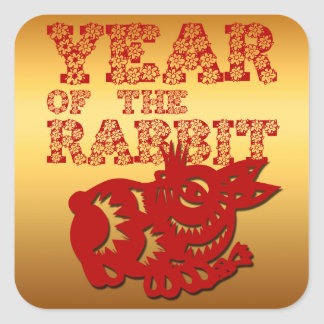 Year of the Rabbit - Chinese astrology - Stickers