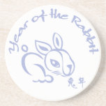 Year of the Rabbit - Chinese Lunar New Year Drink Coasters