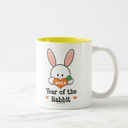 Year of the Rabbit Chinese New Year Mug
