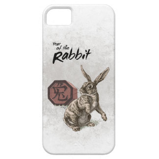 Year of the Rabbit Chinese Zodiac Art iPhone 5 Case