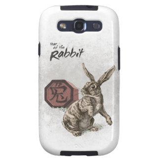 Year of the Rabbit Chinese Zodiac Art Samsung Galaxy SIII Case