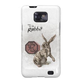 Year of the Rabbit Chinese Zodiac Art Galaxy S2 Case