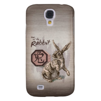 Year of the Rabbit Chinese Zodiac Art Samsung Galaxy S4 Cover