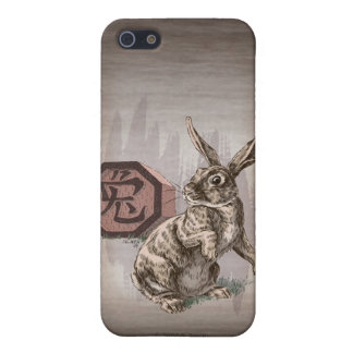 Year of the Rabbit Chinese Zodiac Art Cover For iPhone 5/5S