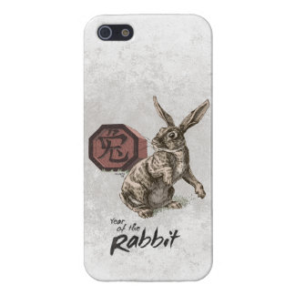 Year of the Rabbit Chinese Zodiac Art iPhone 5 Cover