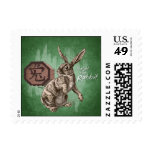 Year of the Rabbit Chinese Zodiac Astrology Postage