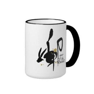 Year of the Rabbit - Chinese Zodiac Ringer Mug