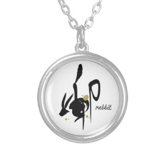 Year of the Rabbit - Chinese Zodiac Round Pendant Necklace