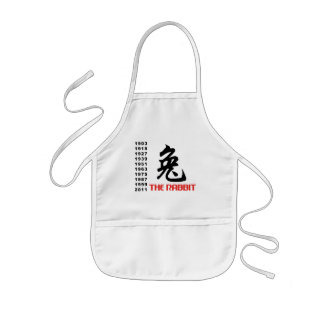Year of The Rabbit Gift Kids' Apron