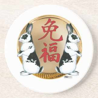 Year of the Rabbit-Good Luck Drink Coaster