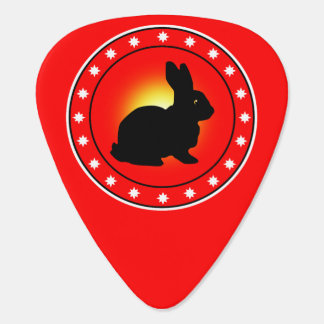 Year of the Rabbit Guitar Pick
