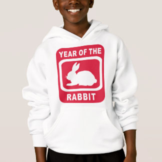 YEAR OF THE RABBIT HOODIE