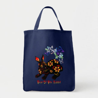 Year Of The Rabbit in Black Bags