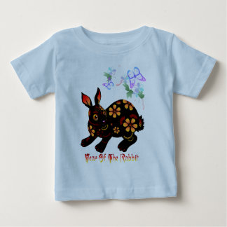 Year Of The Rabbit In Black Shirts