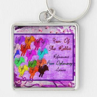 Year of the Rabbit Key Chain