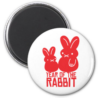 Year of the rabbit refrigerator magnet