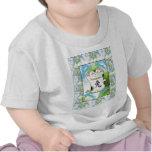 Year of the Rabbit Neko in Blueberry Tshirts