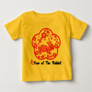 Year of The Rabbit Paper Cut T-Shirt