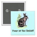 Year of the Rabbit Pastel Tshirt, Mug, Card, Gift Button