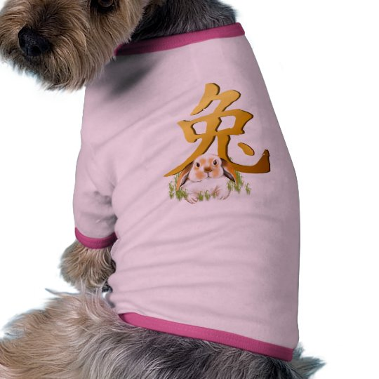Year Of The Rabbit Pet Clothing