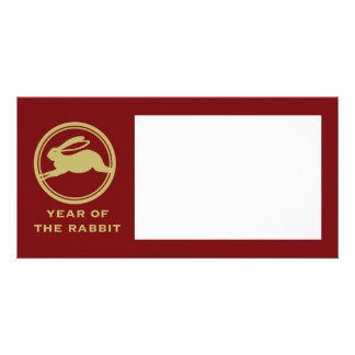 Year of the Rabbit Photo Card Template