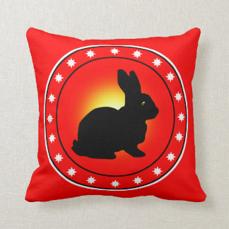 Year of the Rabbit Pillow