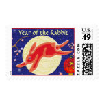 Year of the Rabbit Postage Stamps
