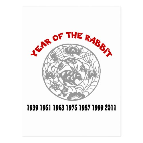 Year of the Rabbit Postcard Sales 4056