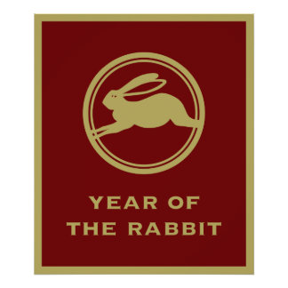 Year of the Rabbit Posters