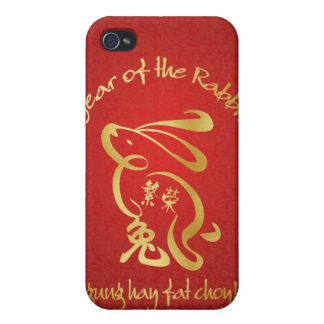 Year of the Rabbit - Prosperity iPhone 4/4S Case