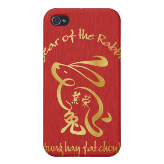 Year of the Rabbit - Prosperity iPhone 4/4S Cases