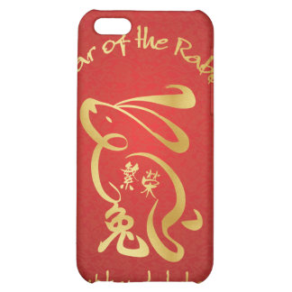 Year of the Rabbit - Prosperity iPhone 5C Cover