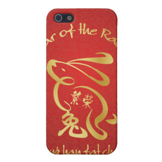 Year of the Rabbit - Prosperity iPhone SE/5/5s Cover
