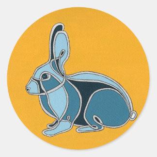 Year of the Rabbit Round Sticker