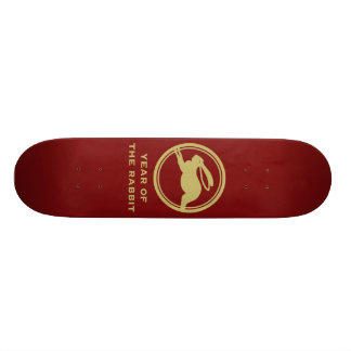 Year of the Rabbit Skateboard