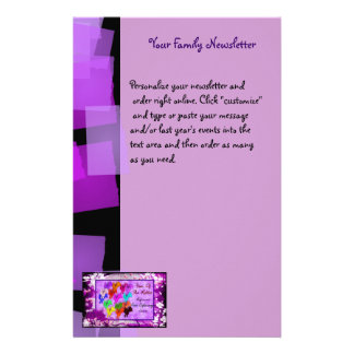 Year of The Rabbit Personalized Stationery