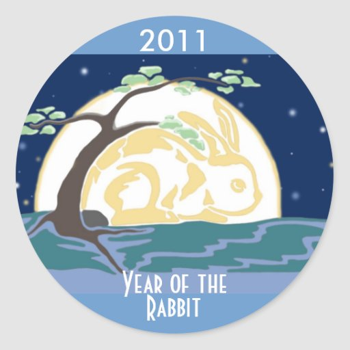 Year of the Rabbit Stickers