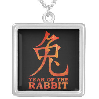 Year of the Rabbit Symbol Necklace