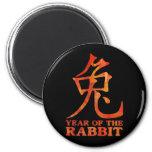 Year of the Rabbit Symbol Refrigerator Magnets